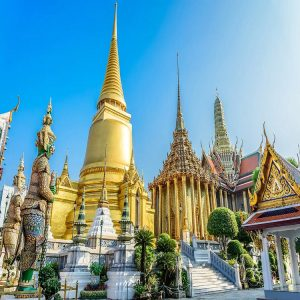 Grand Palace, Emerald Buddha & Reclining Buddha Morning Tour