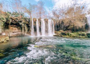 Duden Waterfall in Antalya