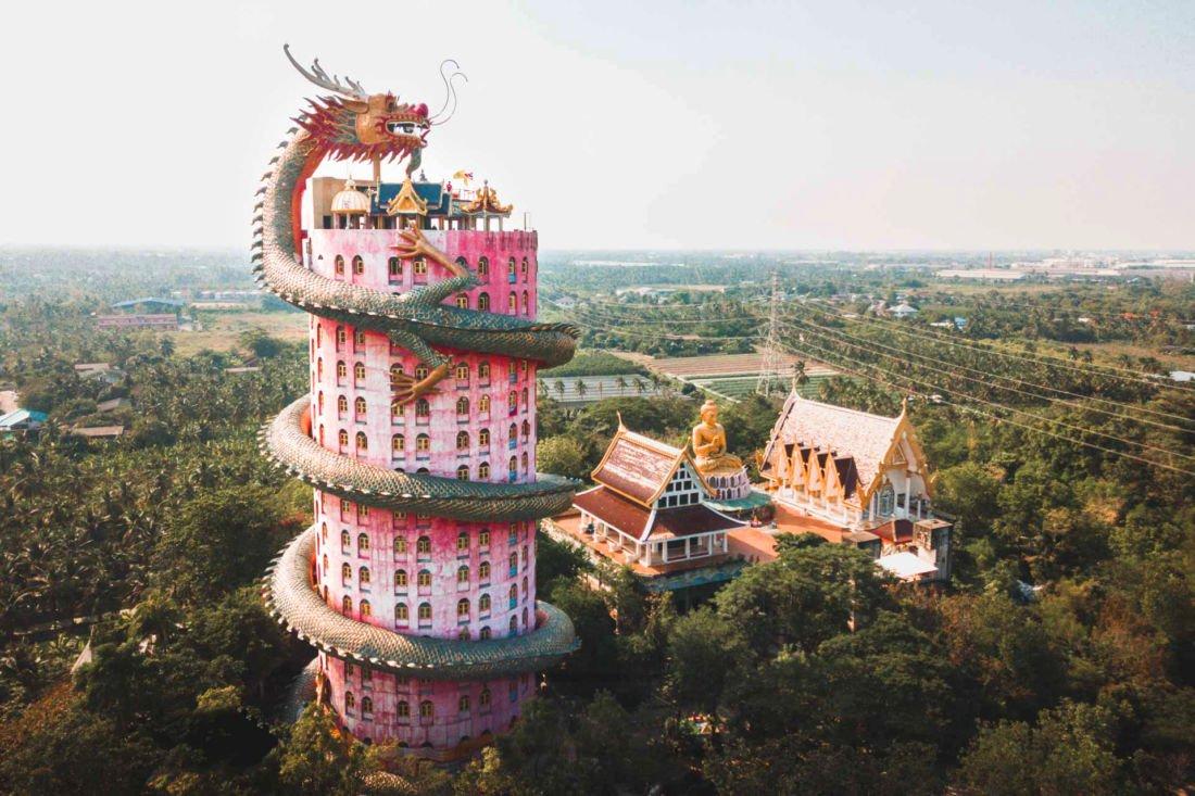 Wat Samphran Dragon Temple